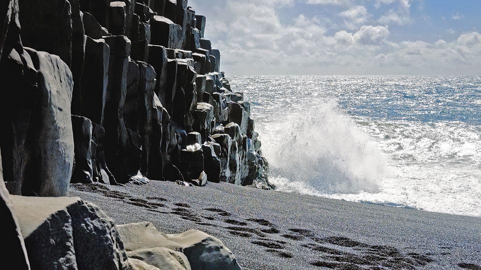 Blacksand Beach, Iceland