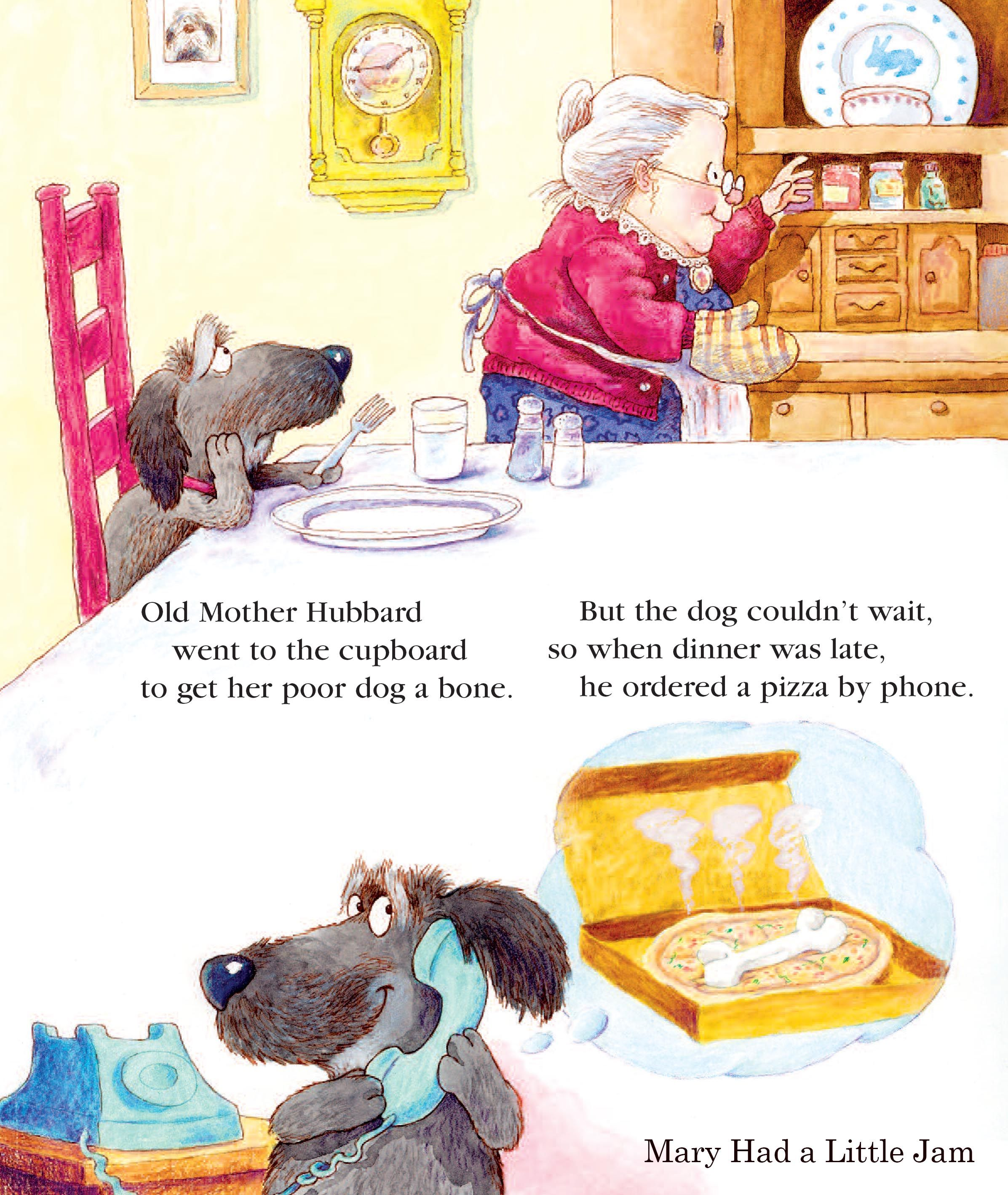Meadowbrook Press Old Mother Hubbard Old Mother Hubbard Poor Dog Olds
