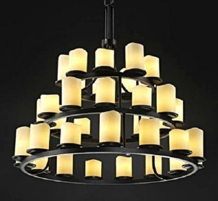 kevin reilly-ALTER large candle chandelier light KL-800 Old Price ...