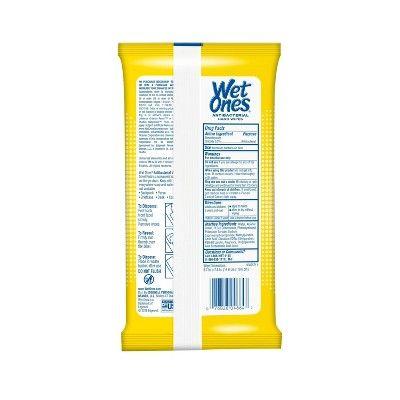 Wet Ones Antibacterial Hand Wipes Citrus Scent 20ct Hand