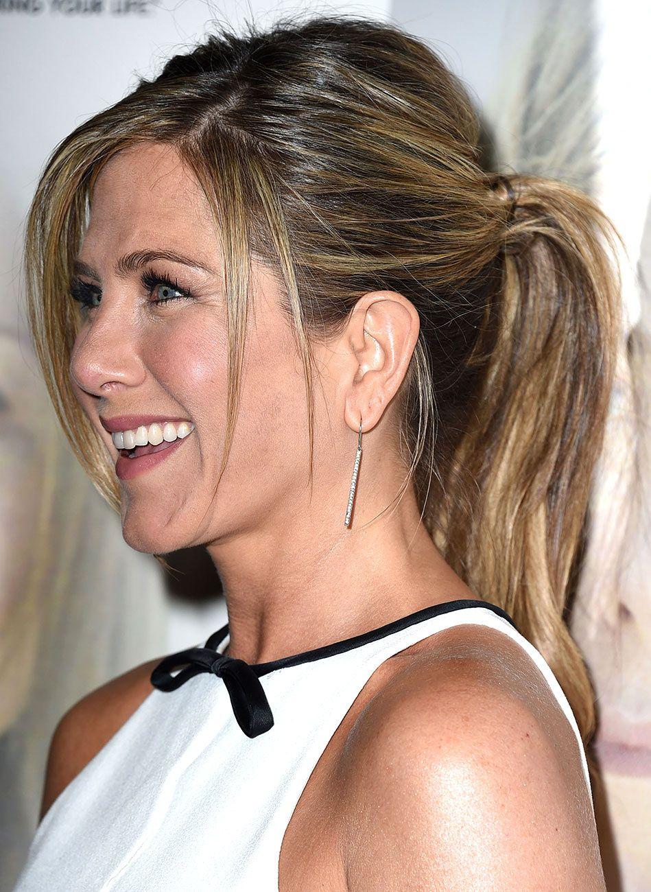 Jennifer aniston y la conquista de la ponytail jennifer aniston