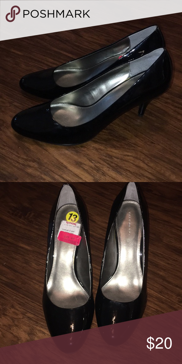 080b903449e Bandolino Patent Leather Pumps Size 13 Bandolino Black Pantene Leather Pumps  New Size 13 Bandolino Shoes Heels