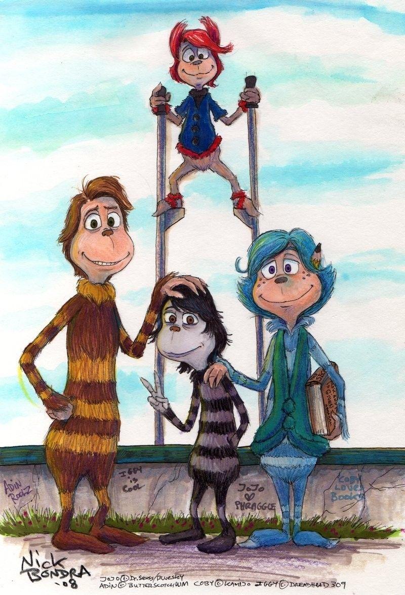 Jojo Horton Hears A Who Anime Best Friends Cartoon Jojo