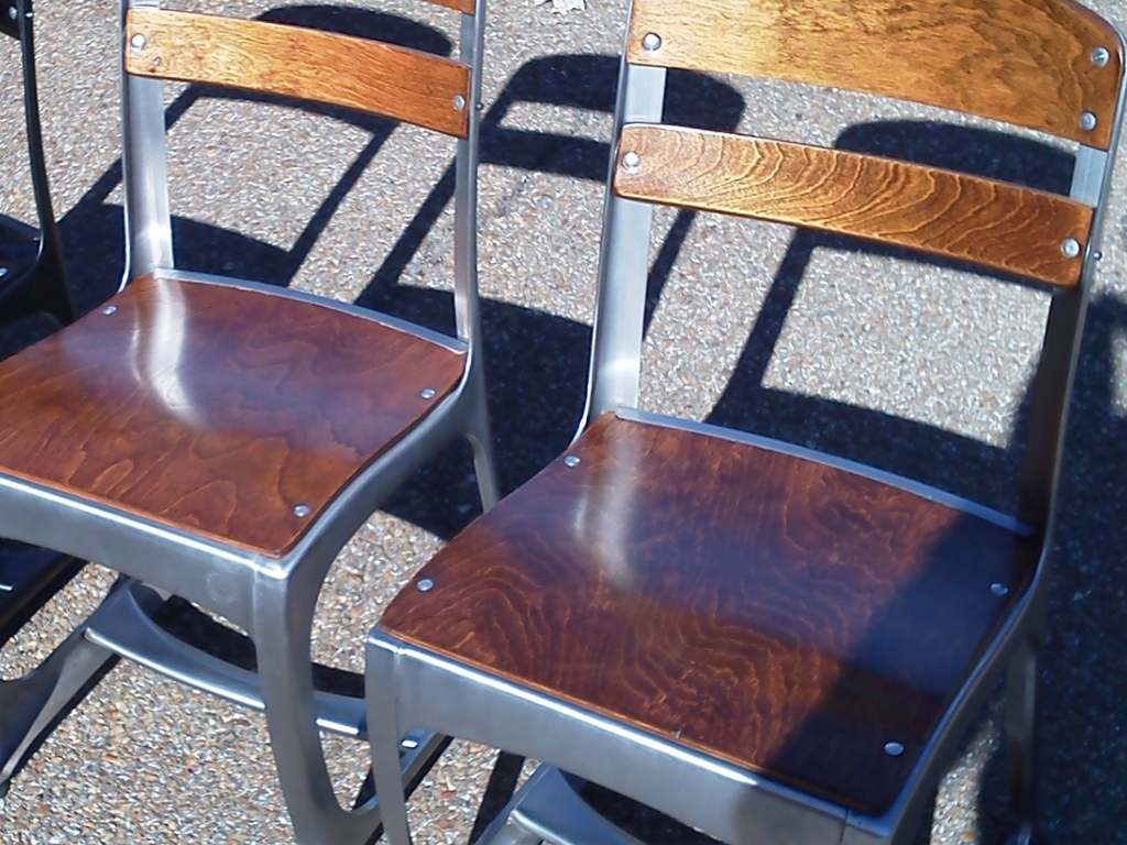 the envoy schoolhouse chair from american seating these classics