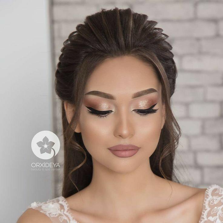 Machiaj Elegant De Nunta Trenduri Si Tendinte Nunti 2021 Machiaj De Seara Pentru Ochi Machiaj Bridal Hair And Makeup Wedding Hair And Makeup Bride Makeup