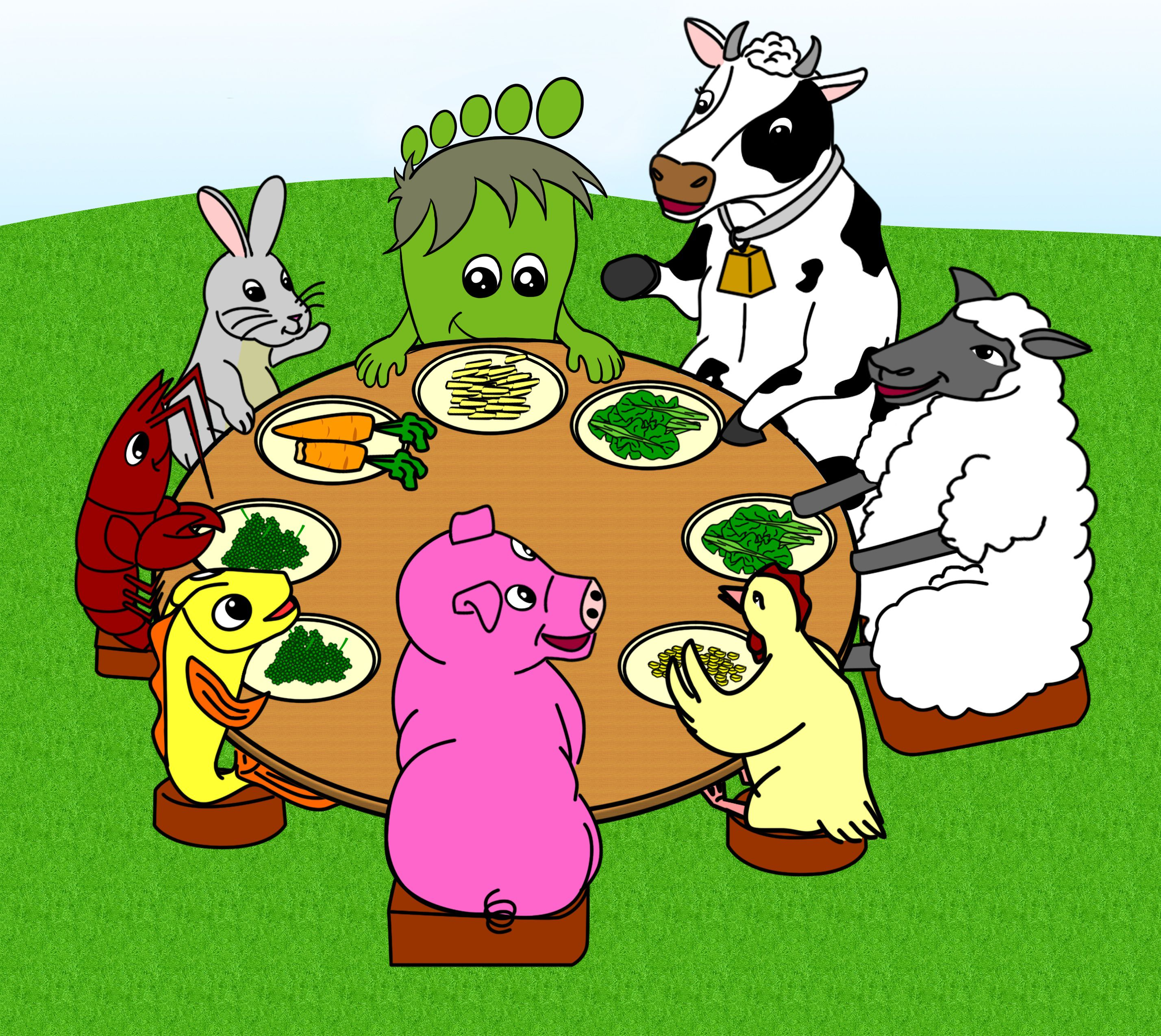 20+ Clipart Of Animals That Eat Meat