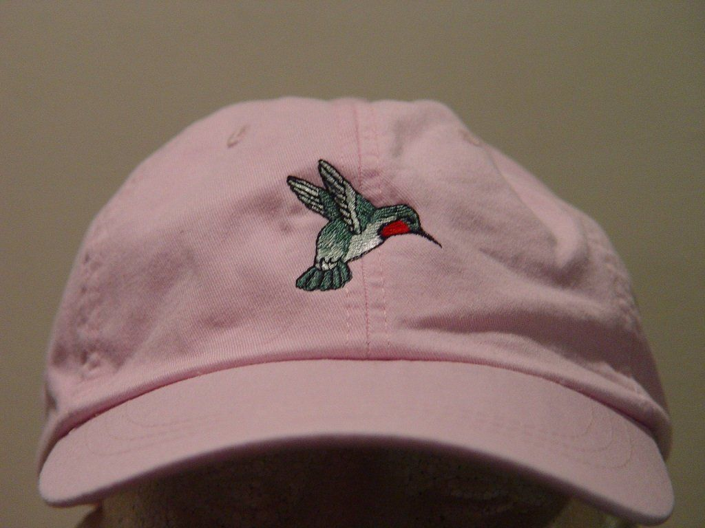 498e544101 HUMMINGBIRD Hat - Embroidered Men Women Wildlife Bird Baseball Cap ...