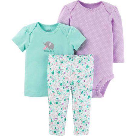 ca7c76a4356c0 Child of Mine By Carters Newborn Baby Girl Tshirt