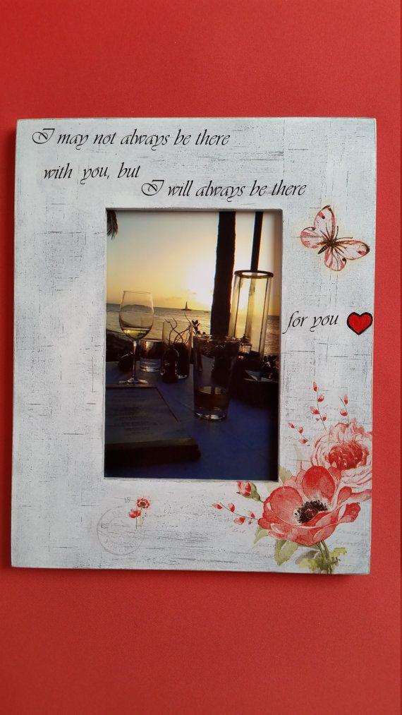 Handmade wooden frame, Friends gift, 4x6 picture frame, Best friends ...