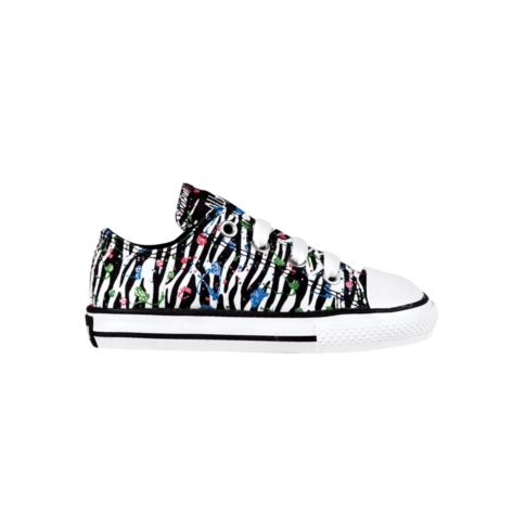 26d2d819b759 Shop for Toddler Converse All Star Zebra Splat Athletic Shoe in  WhiteBlackSplat at Journeys Kidz.