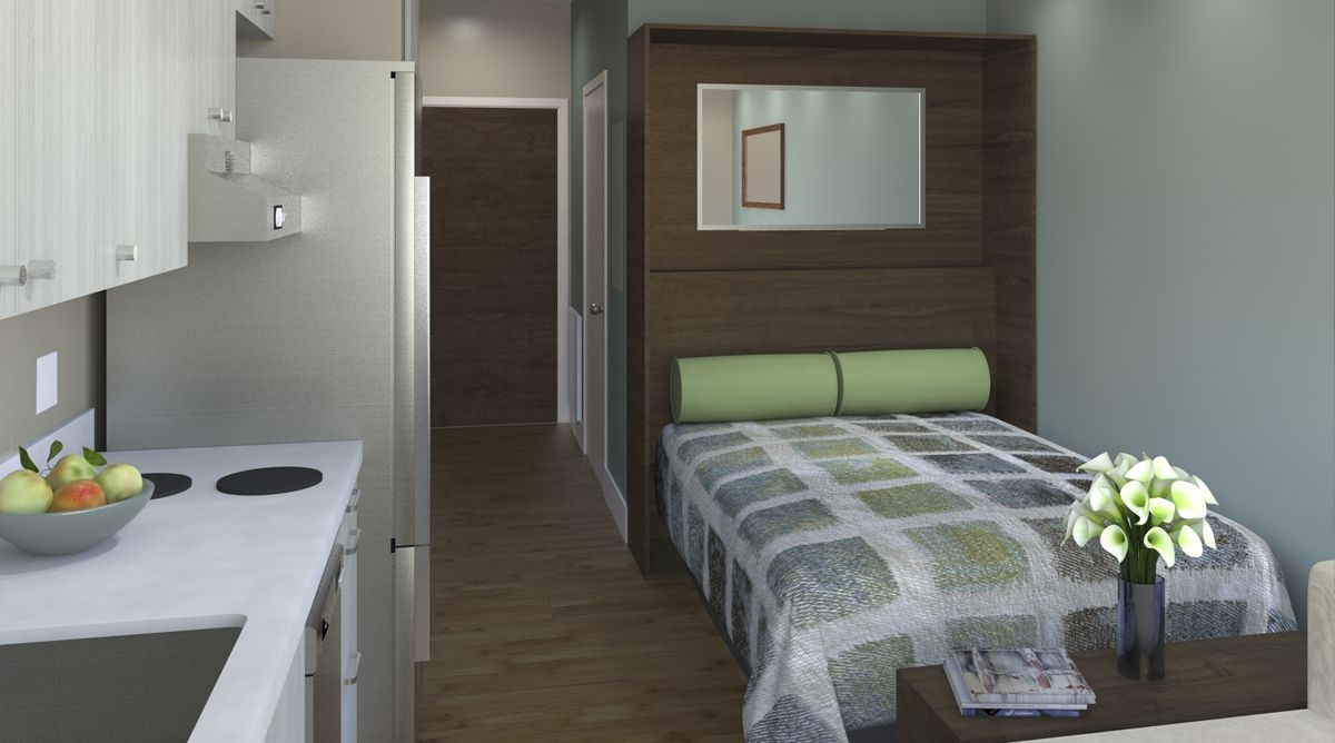 Ausziehbett Elm Pin By Darrin Wong On Micro Units In 2019 Micro Apartment Tiny