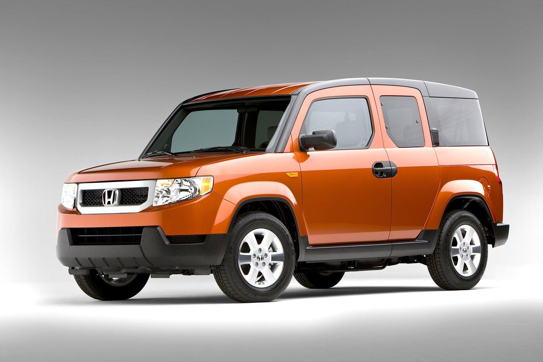 Orange Honda