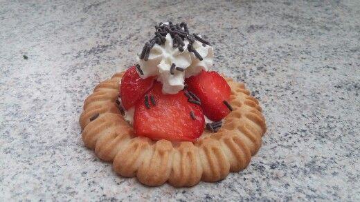 Erdbeer-Törtchen-Keks