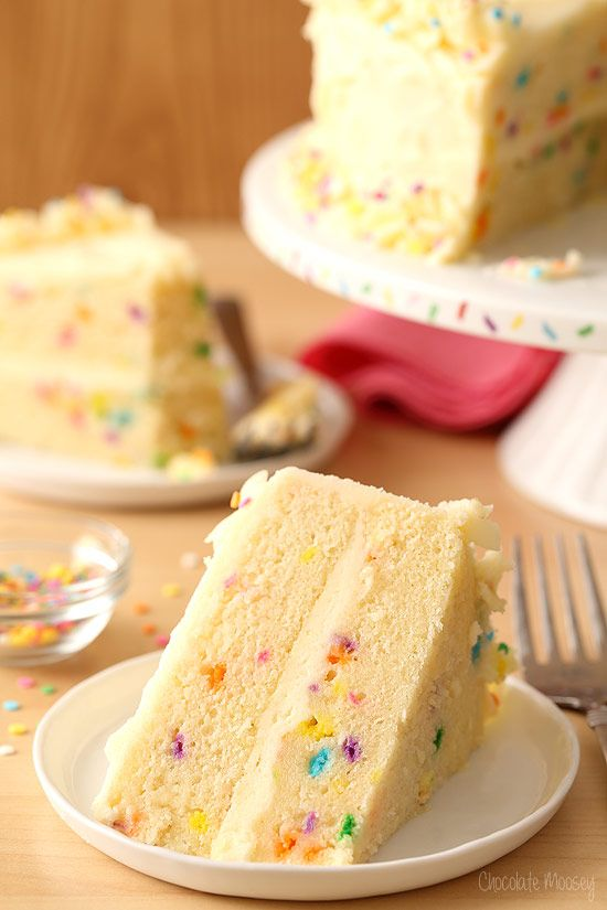 Lets have some fun and celebrate with this homemade Funfetti Layer