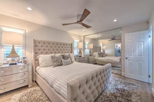 1988 Skyline Double Wide Complete Remodel Manufactured Home Interior Design Master Bedroom After