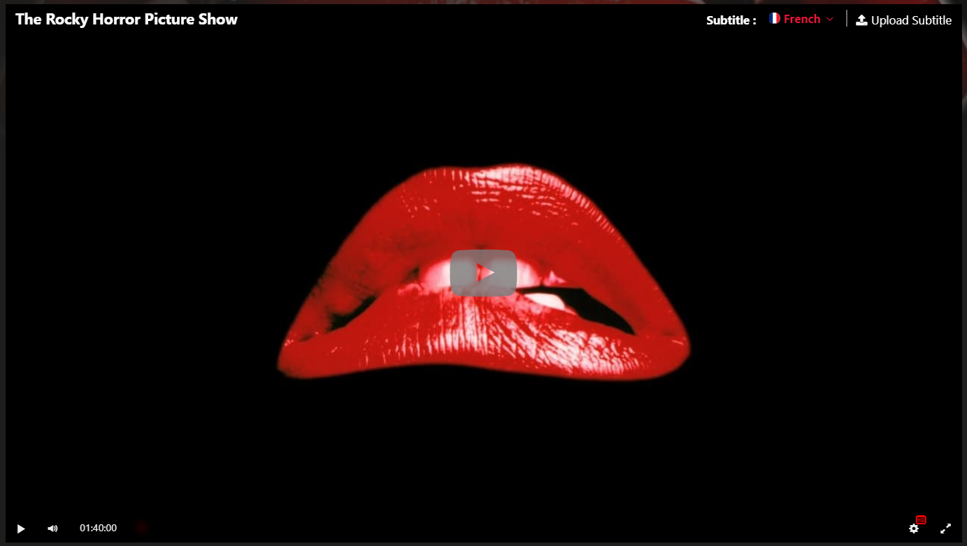 Hd The Rocky Horror Picture Show 1975 Film Complet En Francais Rocky Horror Picture Show Horror Picture Show Rocky Horror
