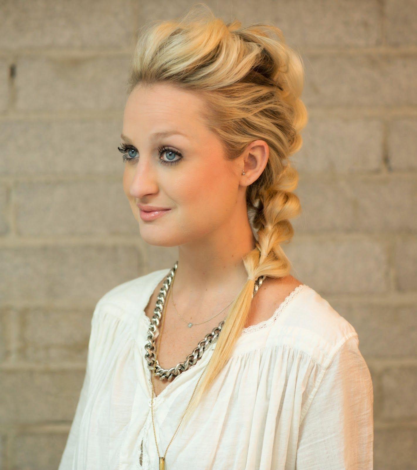 Mohawk braid hair pinterest mohawks braid hair tutorials and