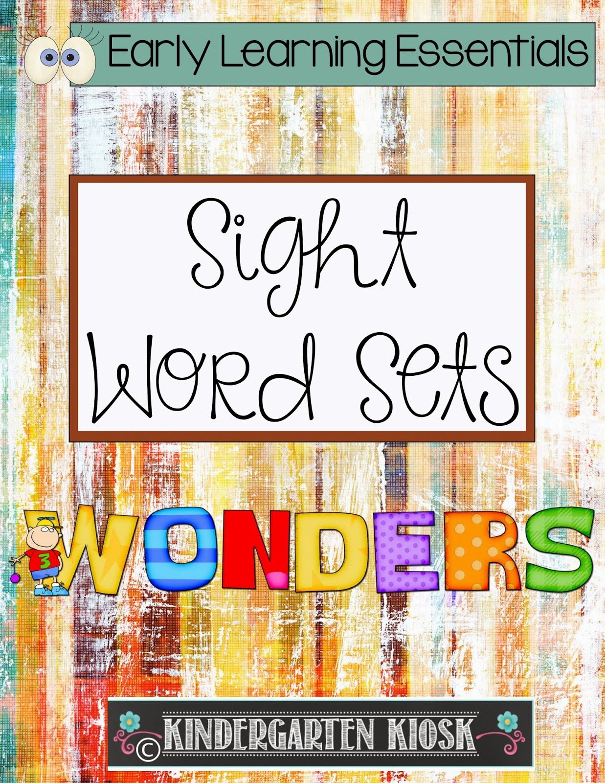 21 Wonders Sight Word Card Sets
