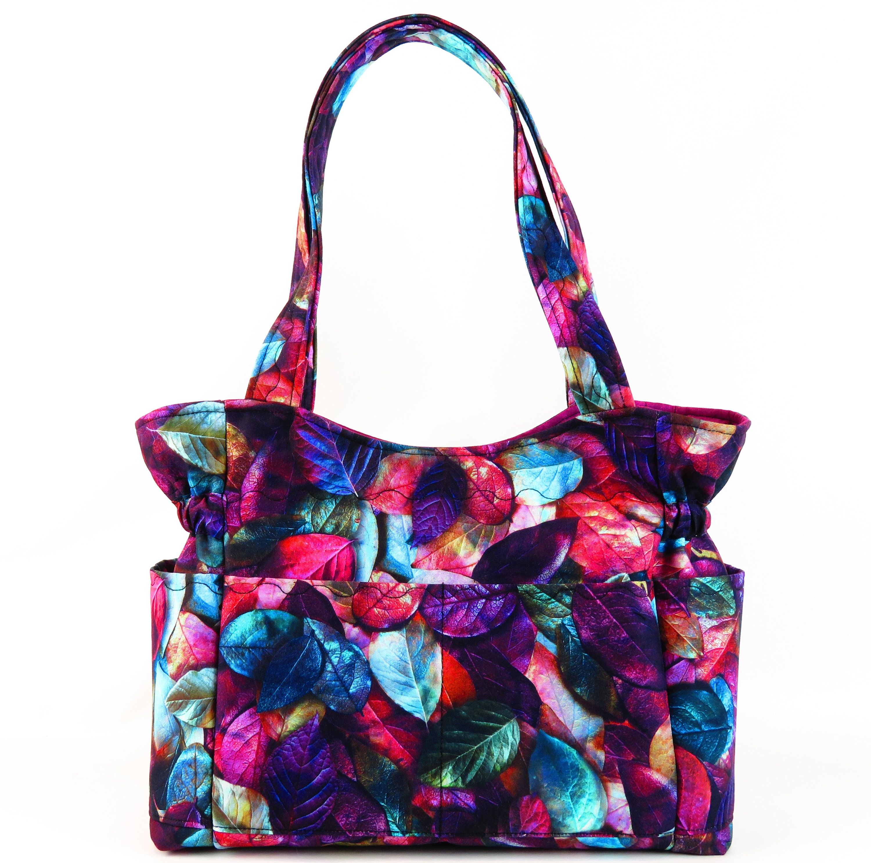 c1210fae3 Fall Leaves Purse, Shoulder Bag Purse, Purses and Bags, Quilted Fabric Purse ,