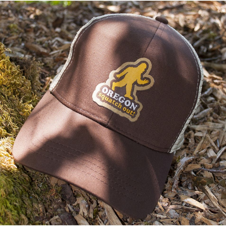 9d7c2c216fb88f Oregon Squatch Out! Trucker Hat | Little Bay Root | Made In Oregon ...