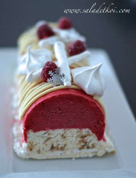 Recette buche glacee thermomix