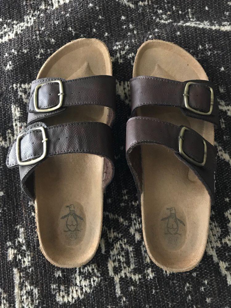 a8559defad31 Original Penguin Strap Sandals Men Brown 8  fashion  clothing  shoes   accessories