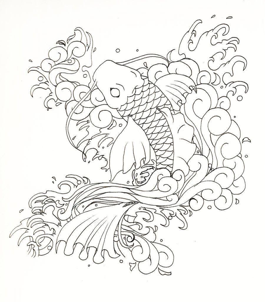 japanese koi fish by moonlit memories on deviantart koi designs