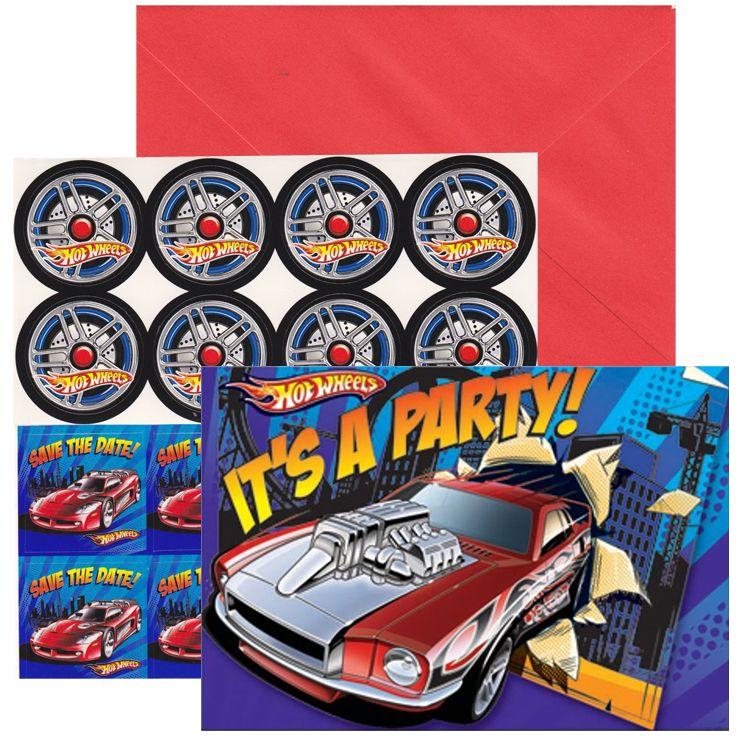 Hot Wheels Party Invitations hot wheels verjaardag – Hot Wheels Party Invitations