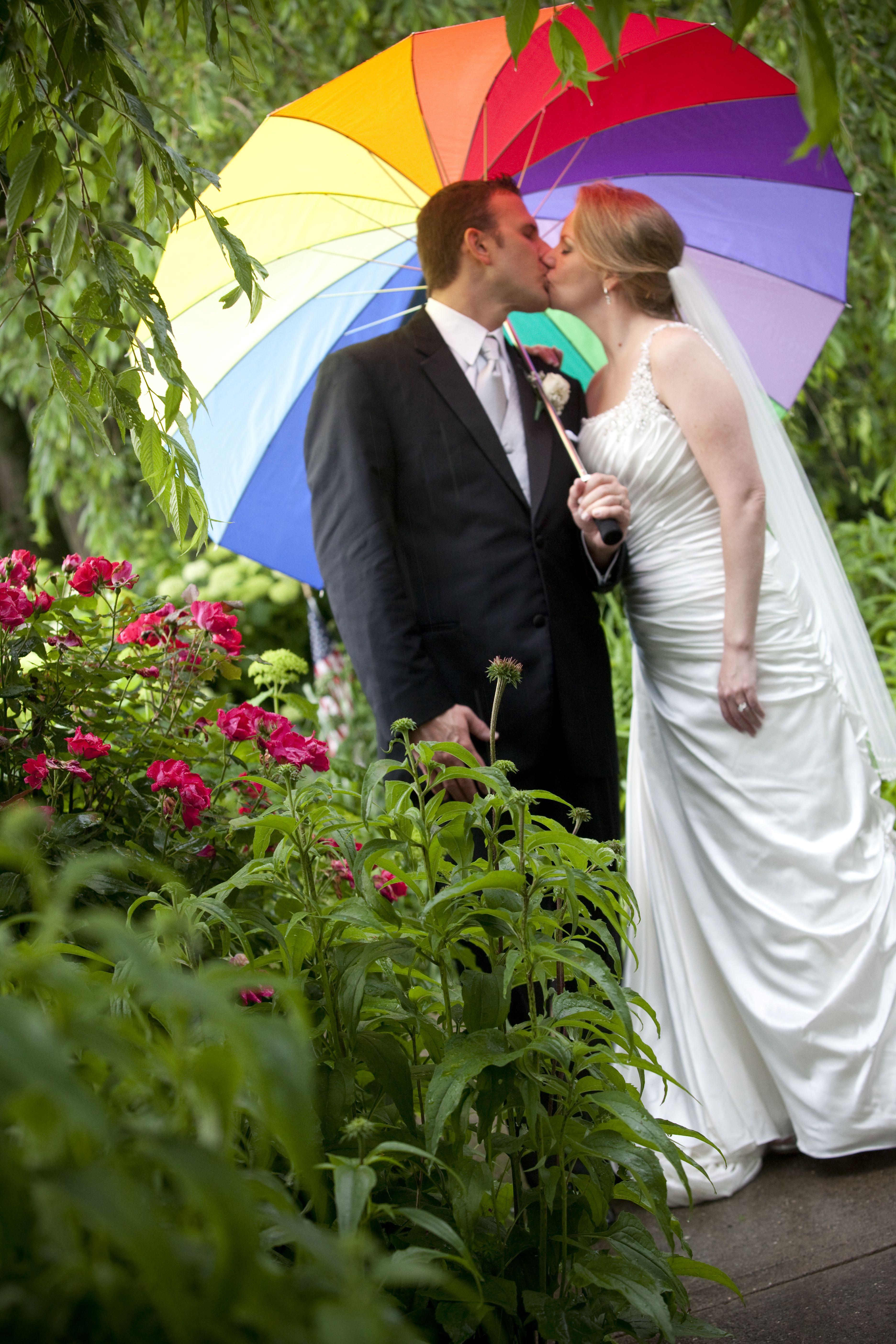 54c0add27087 rainbow umbrella - rainy wedding photos!   Kerry Long Wedding ...