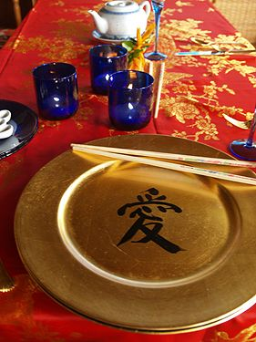 traditional chinese table setting - Cerca con Google