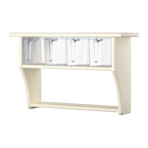 stenstorp wall shelf with drawers, white | plastic drawers