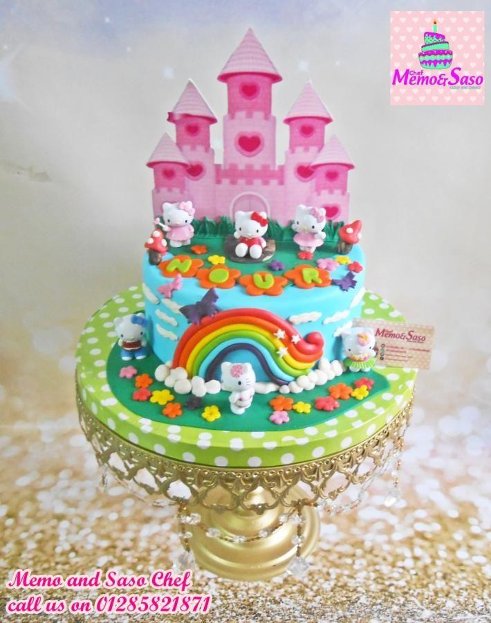Kitty Palace Cake By Mero Wageeh