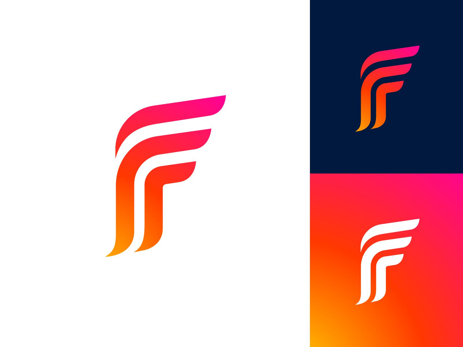 Letter F Exploration Concept 01 Initials Logo Design Monogram Logo Design Logo Design Typography