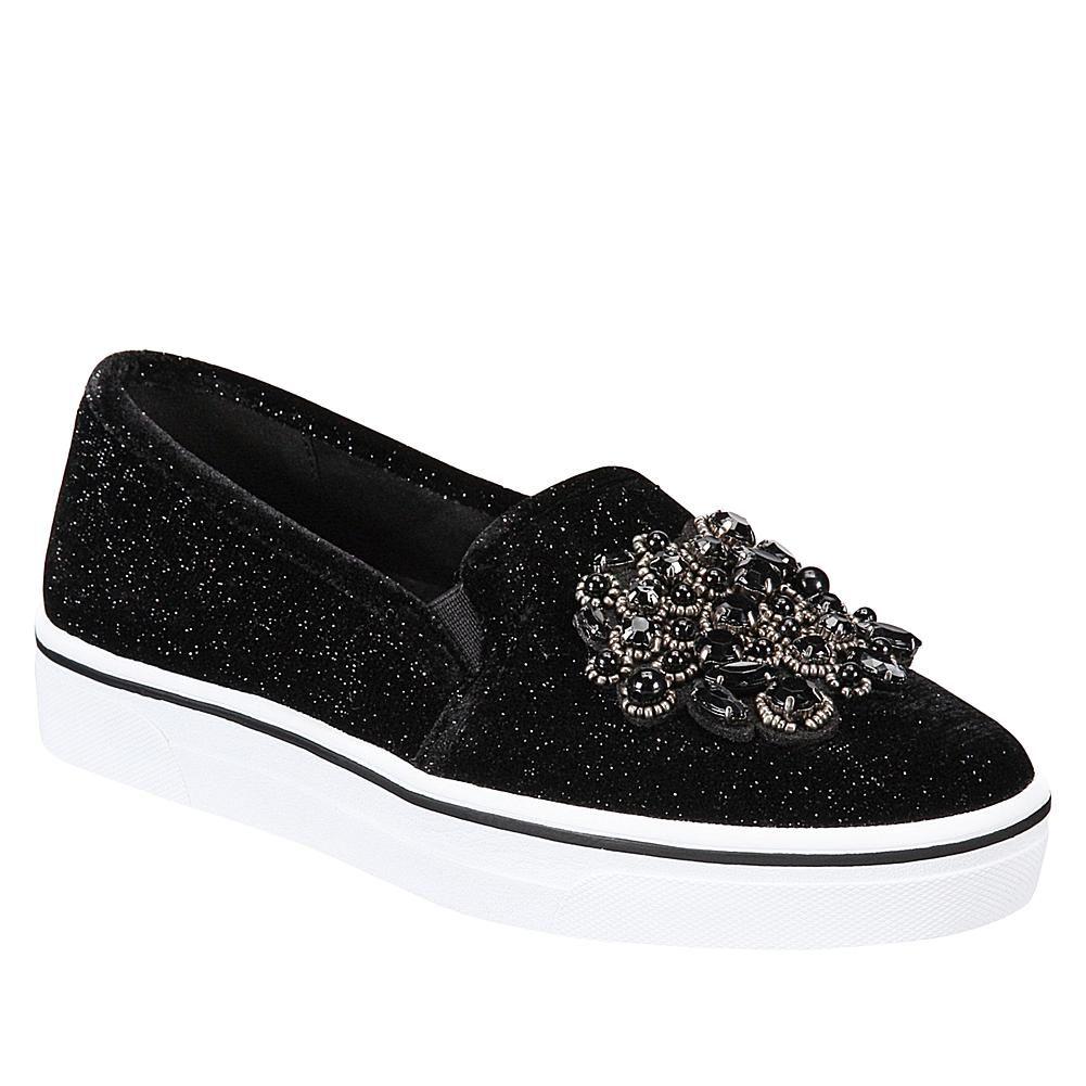 Anne Klein Sport Zymone Jeweled Fabric SlipOn Sneaker