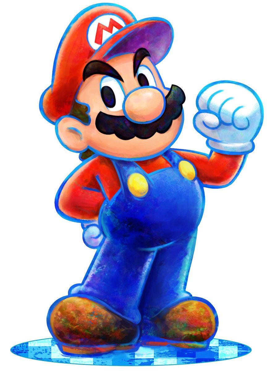Mario Mario Luigi Dream Team Mario And Luigi Mario Art