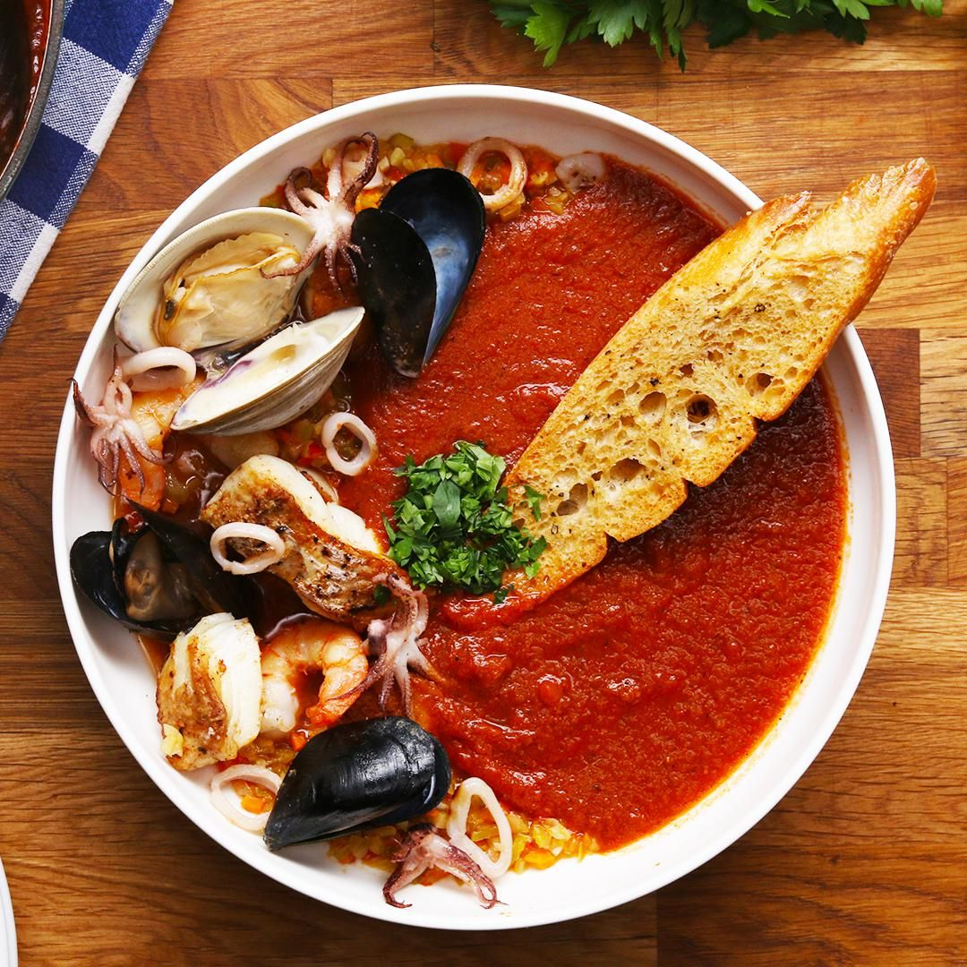 Cioppino Seafood Tomato Stew Recipe By Tasty Recipe Seafood Stew Recipes Stew Recipes Seafood Recipes