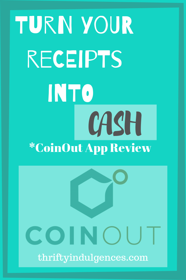 Turn your receipts into CASH! CoinOut App how to