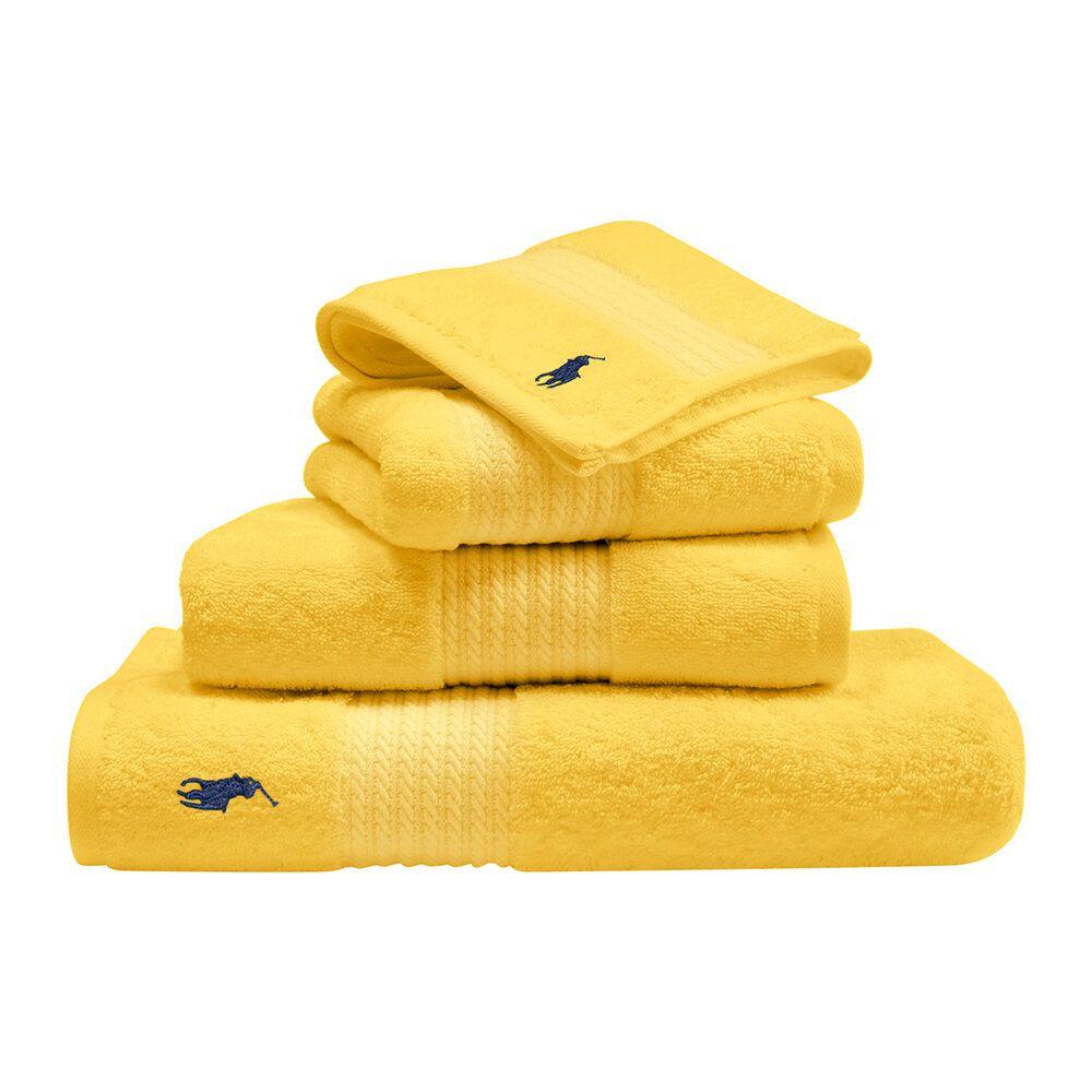 Buy Ralph Lauren Home Player Towel Yellow Guest Towel In 2020