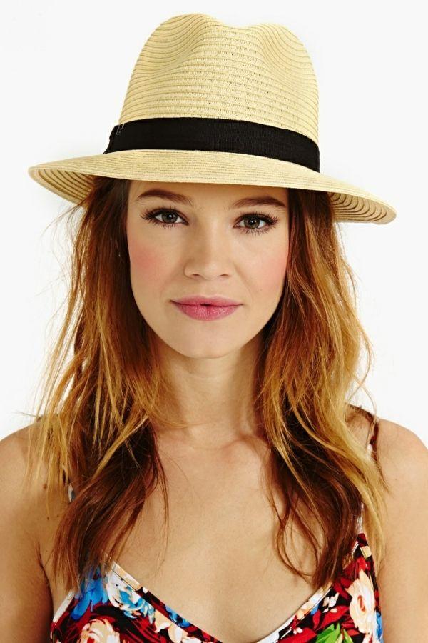 beau chapeau femme