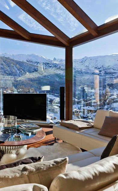 luxury switzerland chalet  chalet zermatt peak chalet
