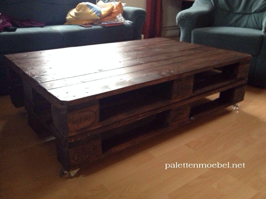 Palettentisch Aus Zwei Europaletten 2 Home Decor Coffee Table Decor