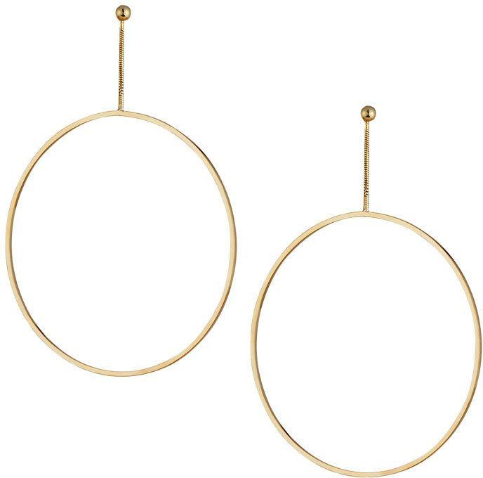 Womens Open-Circle Drop Earrings Kenneth Jay Lane pNOotK5eV