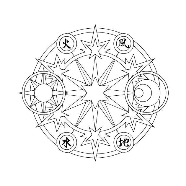 Sakura Clead Card circle | Card Captor Sakura | Pinterest | Tatuajes ...
