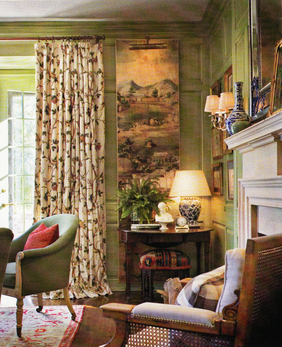 Home Interior Design Decor English Cottage Home Decor: A Tudor-Style House In Los Angeles Offers Scenic Views And Warm Interiors