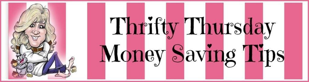 Thrifty thursday money saving tips money saving tips