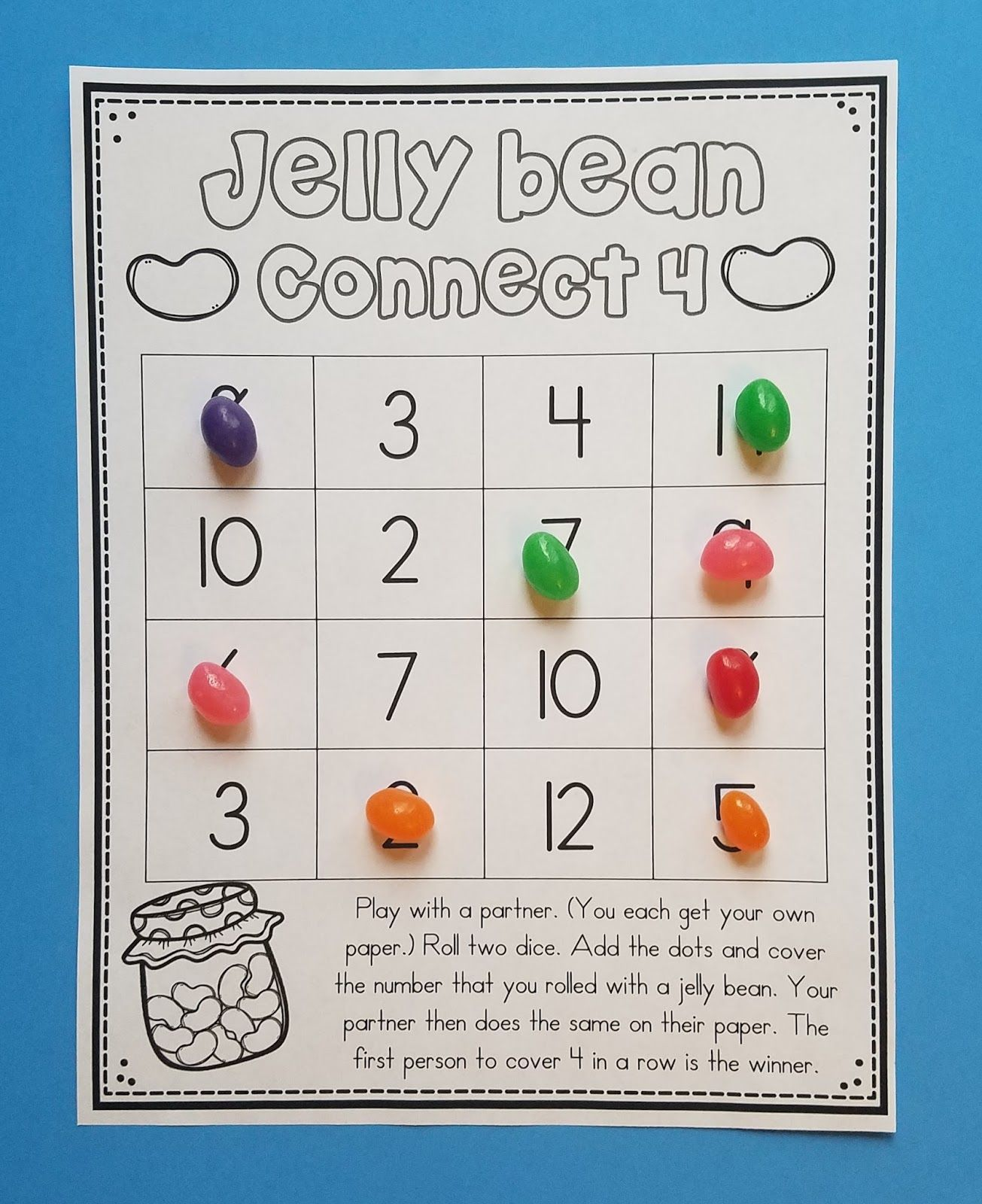 10 Jelly Bean Math Activities In With Images