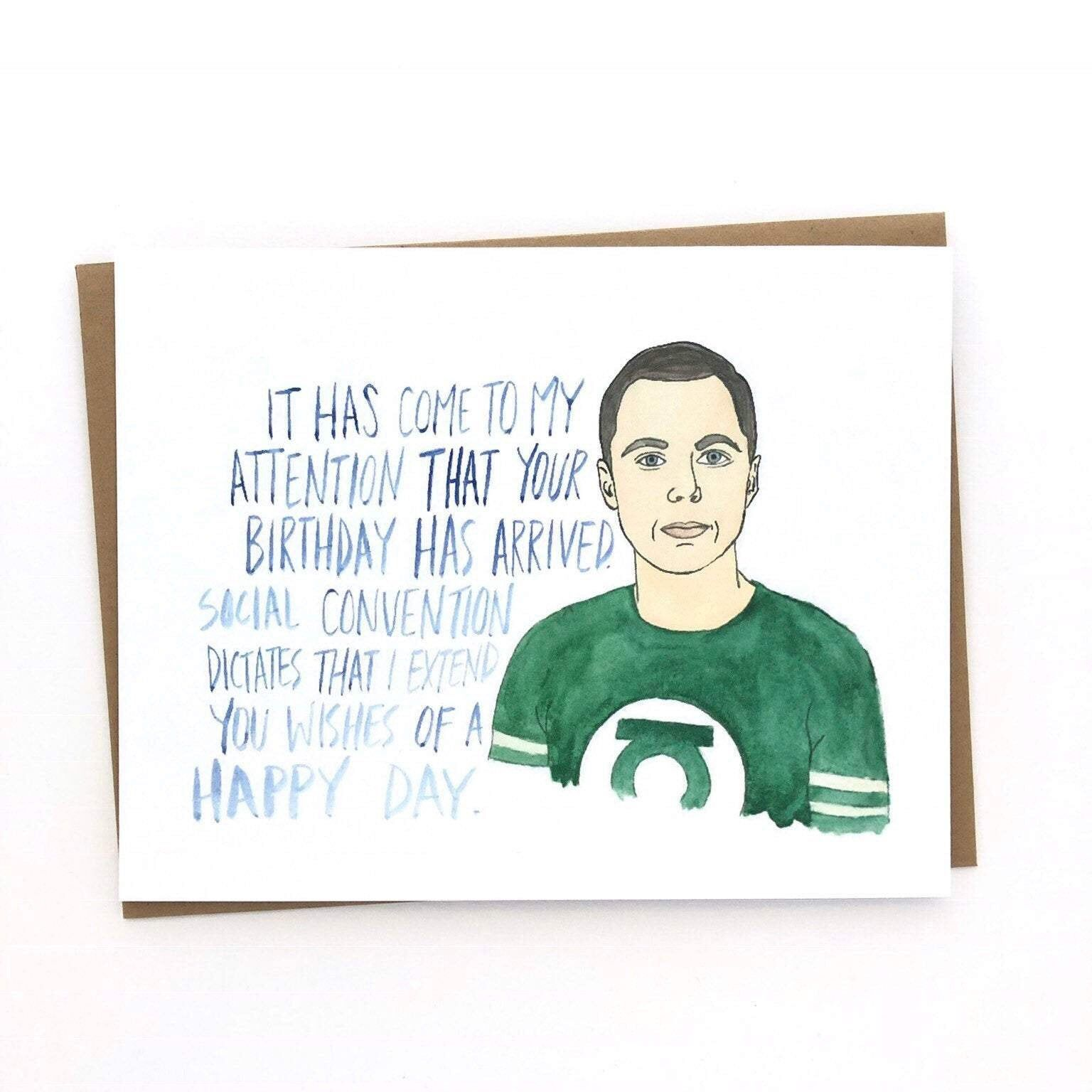 Sheldon Big Bang Theory Anniversaire