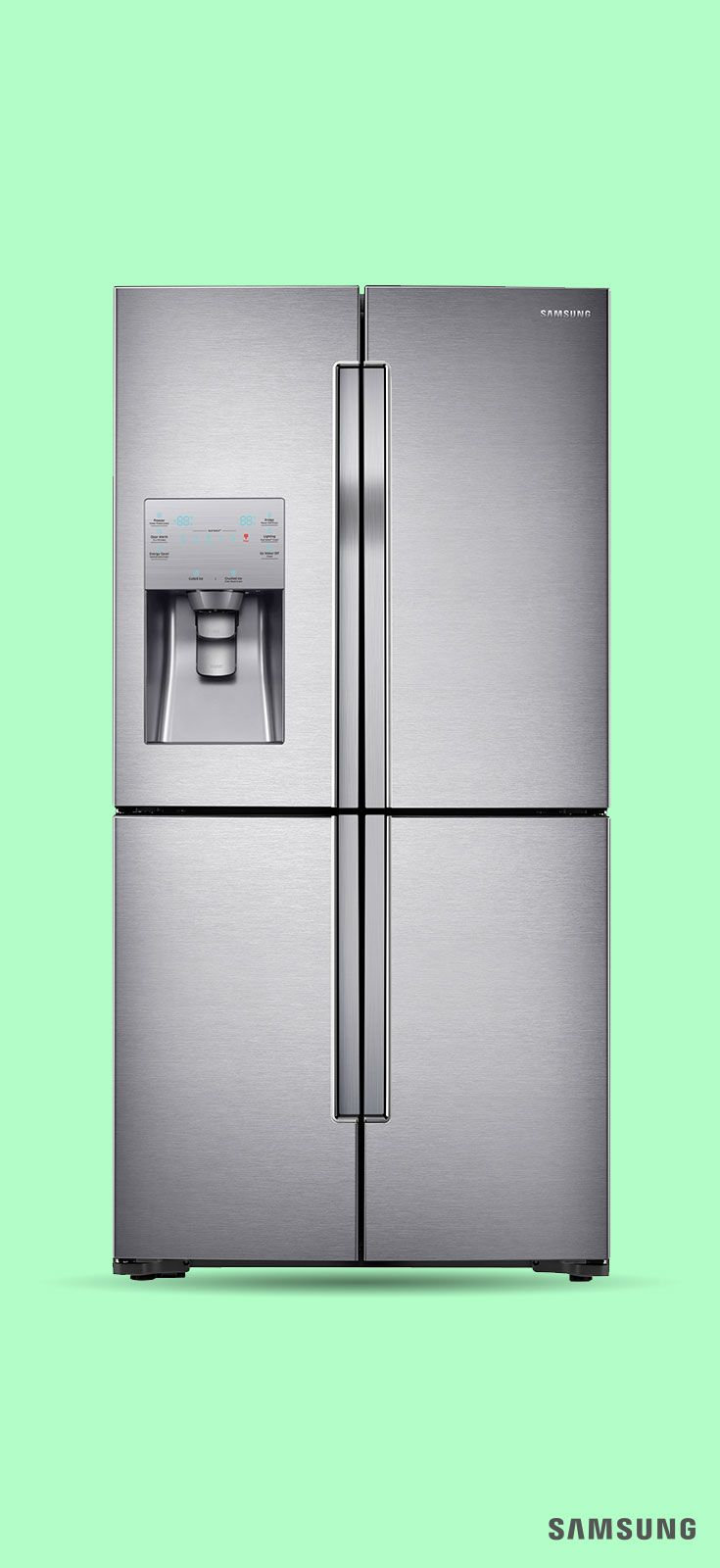 Check Off A Kitchen Remodel Must Have With Our Samsung 4 Door Flex Refrigerator Designed To Fit Up 23 Bags Of Groceries This Energy Efficient Fridge