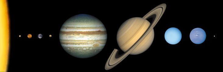 All Planet Sizes The Approximate Sizes Of The Planets Relative To Each Other Outward From The Sun The Planets Are Mercury Venus Earth M Nasa Solar System