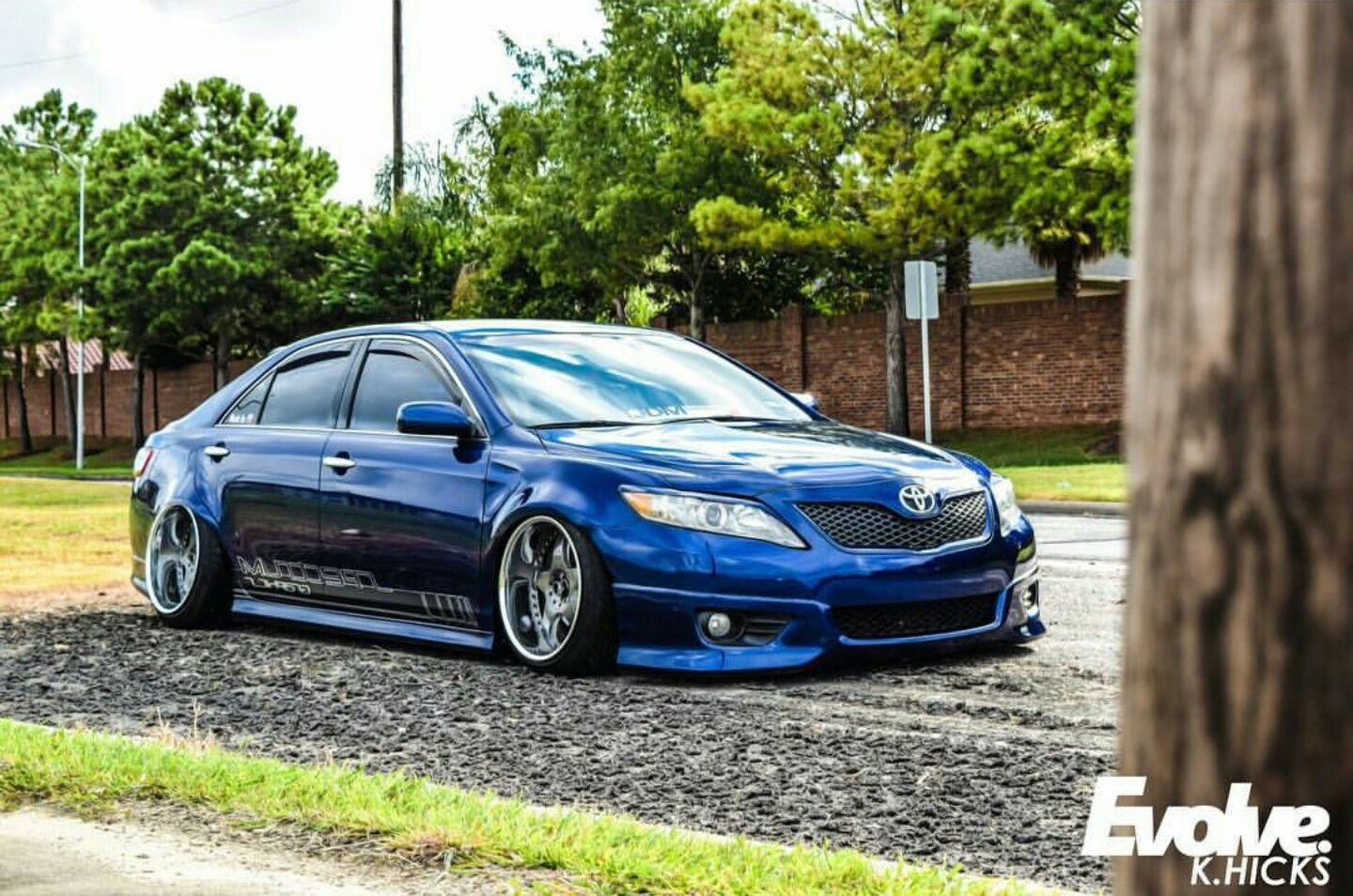 Toyota Camry lowered looks beautiful | Aggressive Imports ...